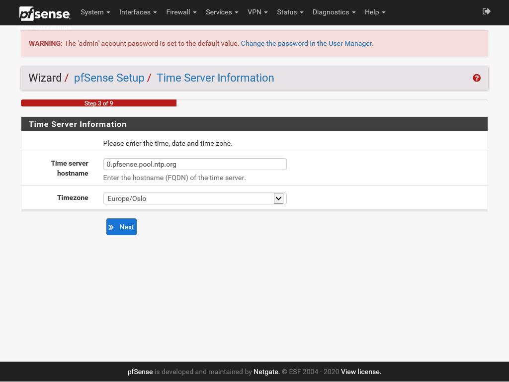 pfSense web configuration part 5