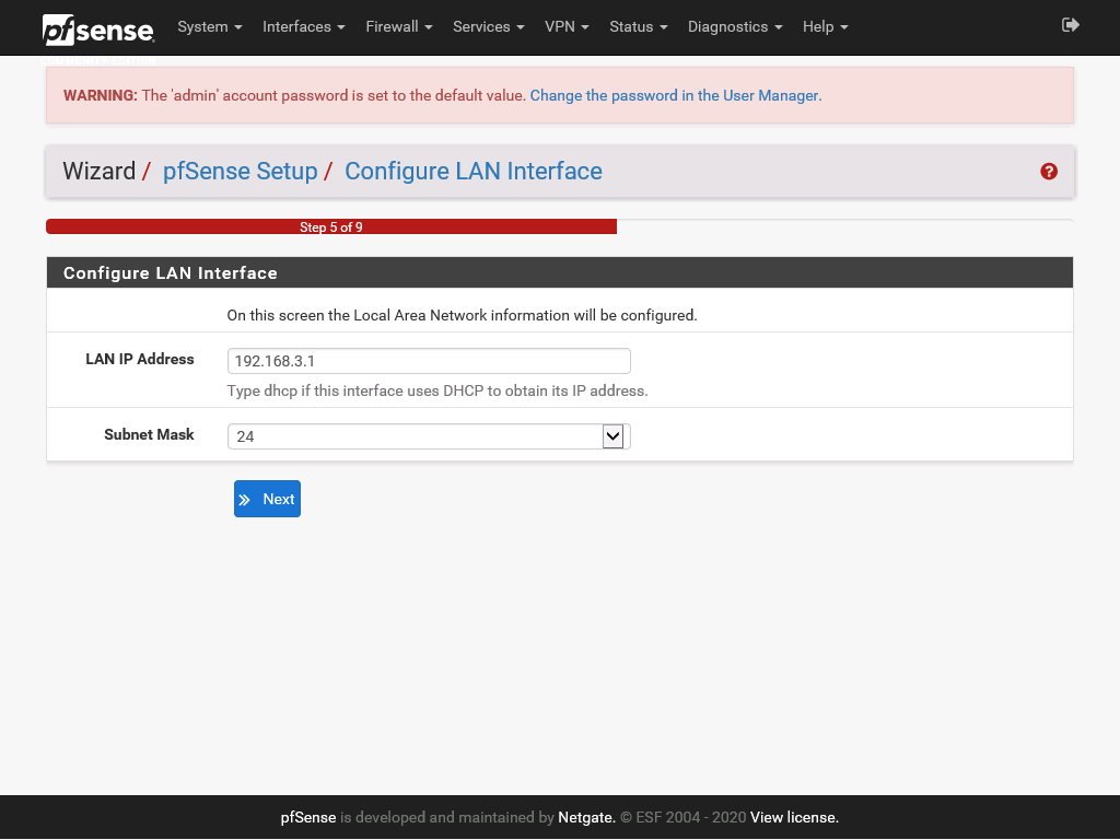 pfSense web configuration part 8