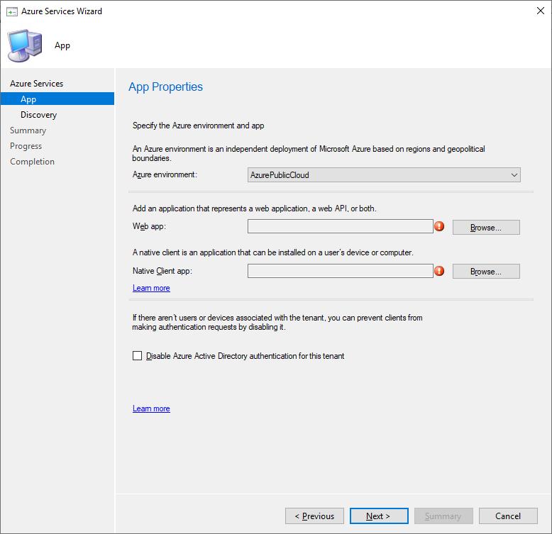 Configure Azure Services part 2