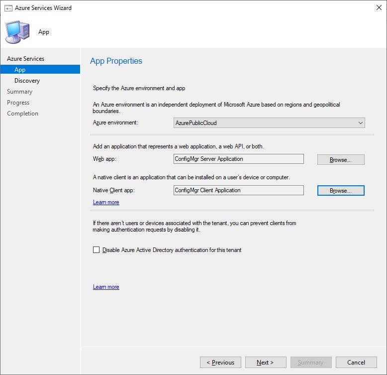 Configure Azure Services part 5