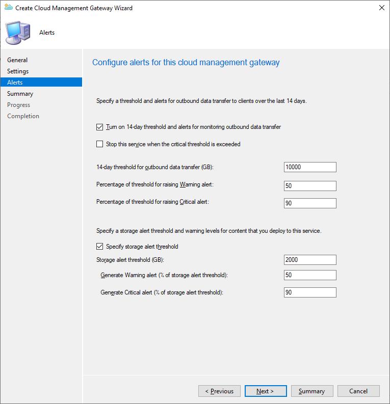Create a cloud management gateway part 4